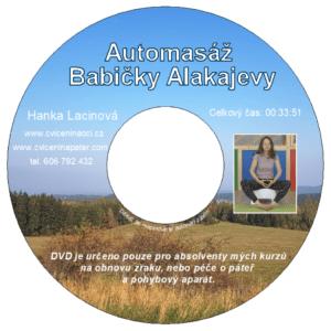 DVD - Automasáž Babičky Alakajevy