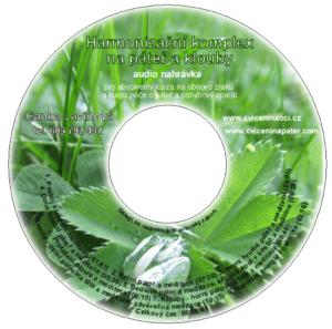 DVD - Harmonizační komplex napáteř aklouby - audio nahrávka