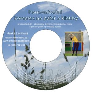 DVD - Harmonizační komplex napáteř aklouby pro začátečníky